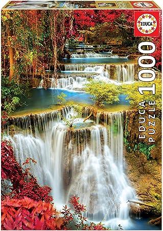 Educa Borras - Genuine Puzzles, Puzzle 1.000 piezas, Catarata en ...