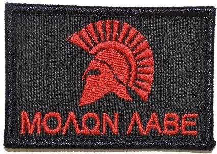 Amazon.com  Molon Labe Spartan Head 2x3 Morale Patch - Multiple ... f0c4b333268