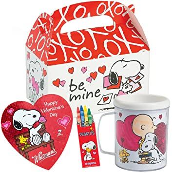 Amazon Com Peanuts Snoopy Valentines Day Gift Basket Snoopy Diy