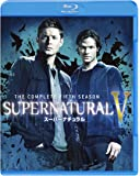 SUPERNATURAL <フィフス・シーズン> コンプリート・セット (4枚組) [Blu-ray]