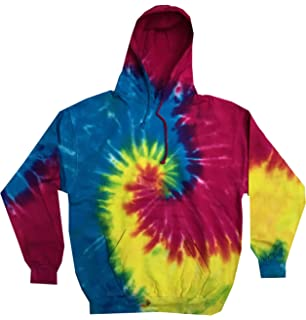 4fcfe0be8e8 Amazon.com  Buy Cool Shirts Kids Tie Dye Pullover Multi Reactive ...