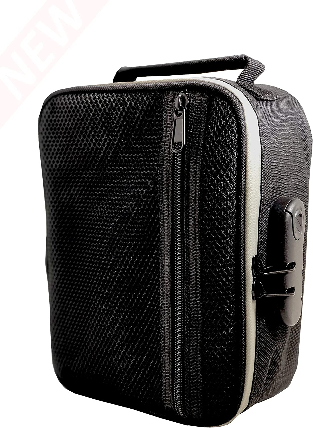 Smell Proof Bag - Odor Concealing - Protect Your Items with Built-in Combo Lock