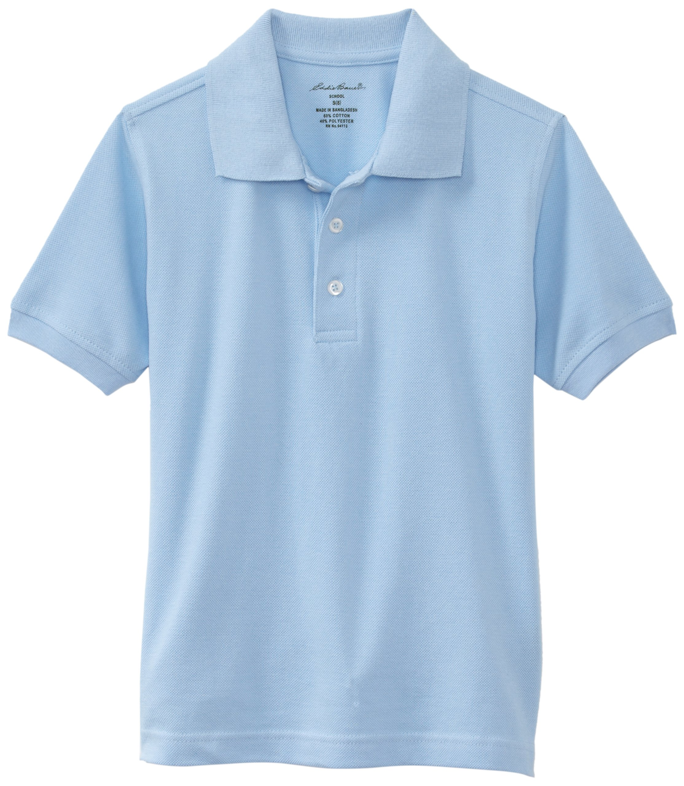 09a381058 Galleon - Eddie Bauer Boys  Short Or Long Sleeve Polo Shirt (More Styles  Available)