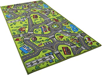 Angels City Life Kids Carpet Playmat Rug
