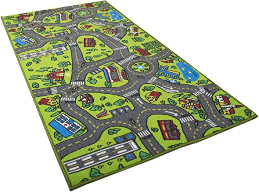 Kids Carpet Playmat Rug City – Car City Carpet