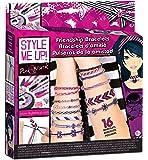 Style me up 615 - Pink and Black Kreativset Freundschaftsbänder