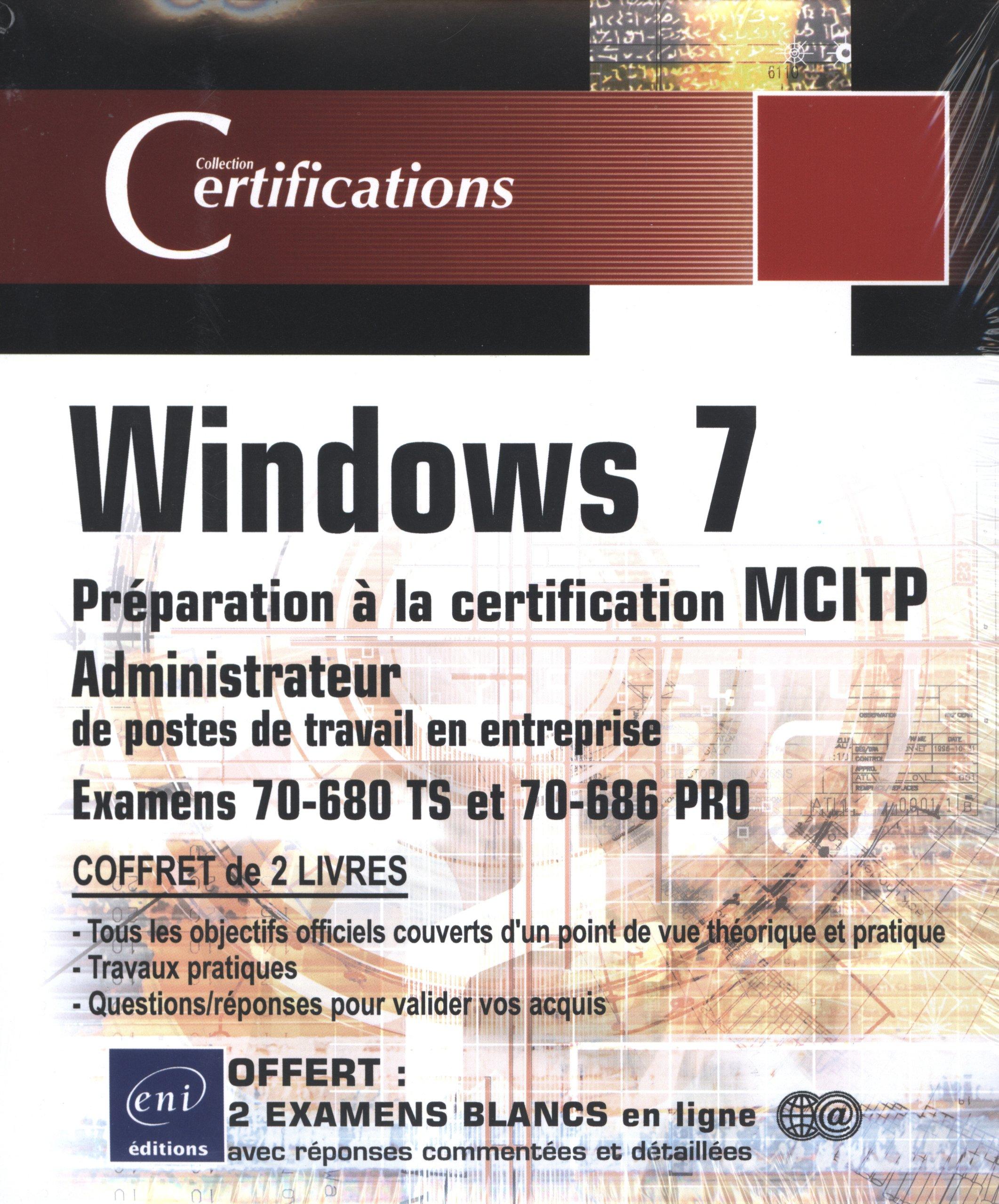 Windows 7 Coffret De 2 Livres Preparation A La Certification