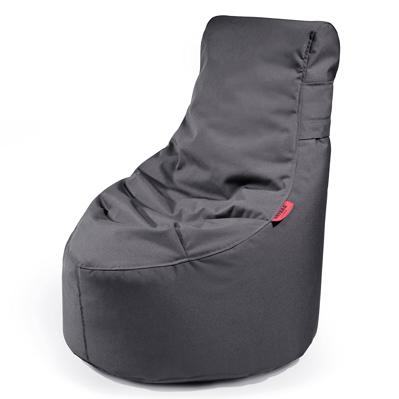 Outbag 01SLS-PLU-ant Slope Plus XS Outdoor Sitzsack / Sessel - Anthrazit