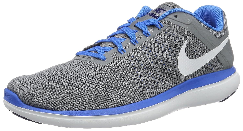 NIKE Men's Flex 2014 RN Running Shoe B0147VT23I 8.5 D(M) US|Cool Grey/White-loyal Blue