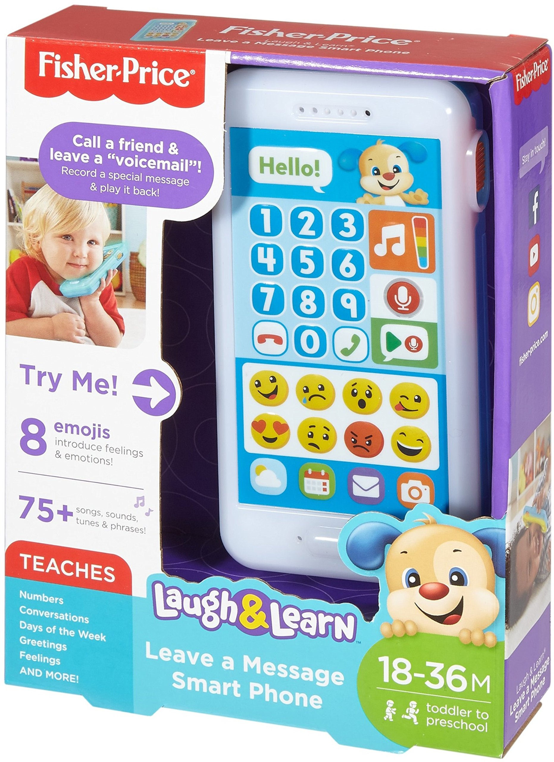Fisher-Price Laugh & Learn Leave A Message Smart Phone, Puppy by Fisher-Price (Image #15)