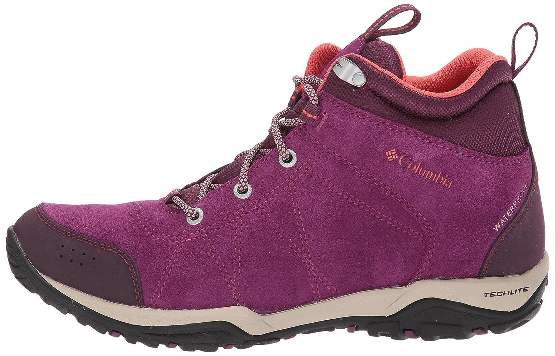 Columbia Womens Fire Venture Mid Waterproof hiking Boot