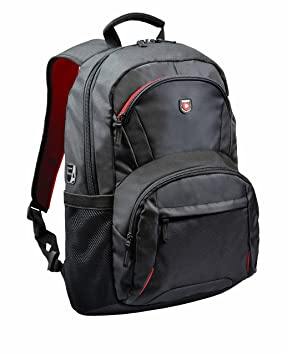 951db07bb300 Port Designs Houston Padded Protective Backpack for 15.6-Inch Laptops, Black