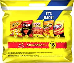 Flamin' Hot Mix Variety Pack, (18 Pack)