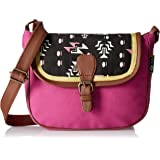 Kanvas Katha Women's Sling Bag (Multi Color) (KKSLTRI005)