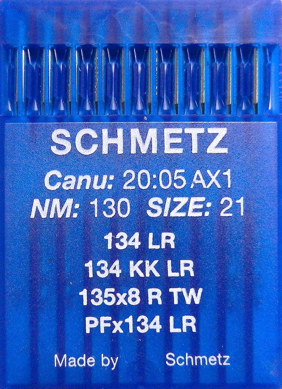 Schmetz 134 R Stärke NM100 Rundkolbennadel 135x5 Schnellnäher Nadeln