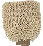 Clean Paws - Chenille Microfiber Dog Towel Mit - 9.5X7 Inches/Attractive, Durable, Super Absorbent, Washable. by Ethical Pets