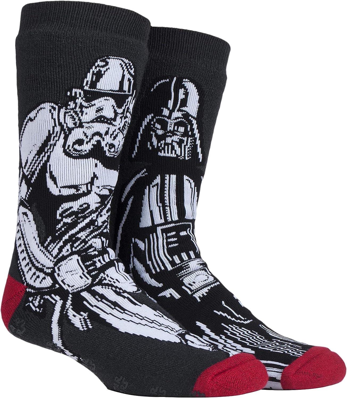 HEAT HOLDERS - Hombre Star Wars invierno calientes gruesos termicos calcetines antideslizantes