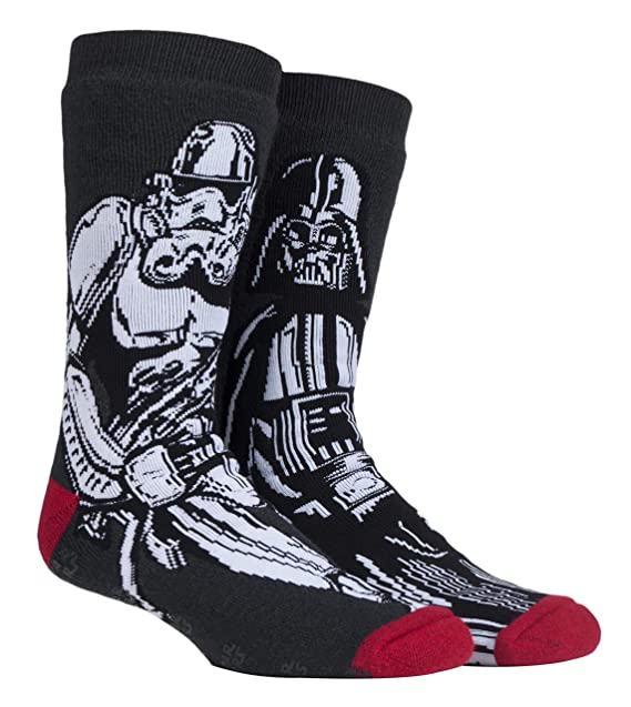 72692c121d Heat Holders - Mens Star Wars Thick Novelty Warm Non Slip Thermal Slipper  Socks with Grips (6-11 uk