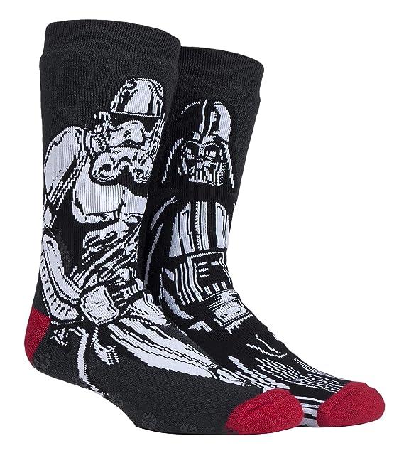 HEAT HOLDERS - Hombre Star Wars invierno calientes gruesos termicos calcetines antideslizantes (39/45