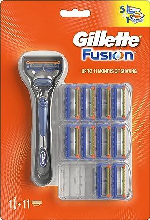 5 hojas de precisión que ayudan a reducir la presión por hoja, para un afeitado más cómodo (en compa