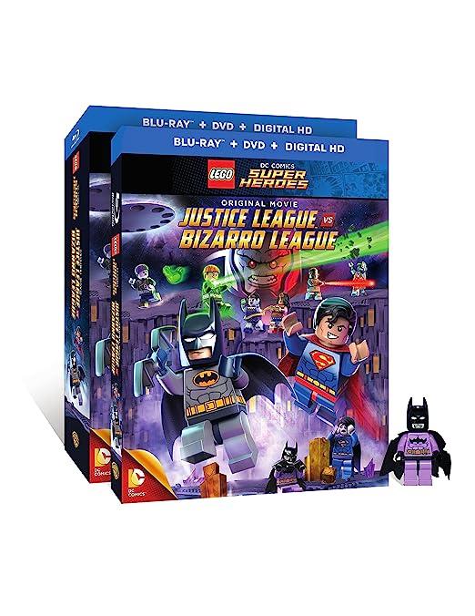 Lego Dc Comics Super Heroes: Justice W/Figurine 2 Blu-Ray Edizione ...