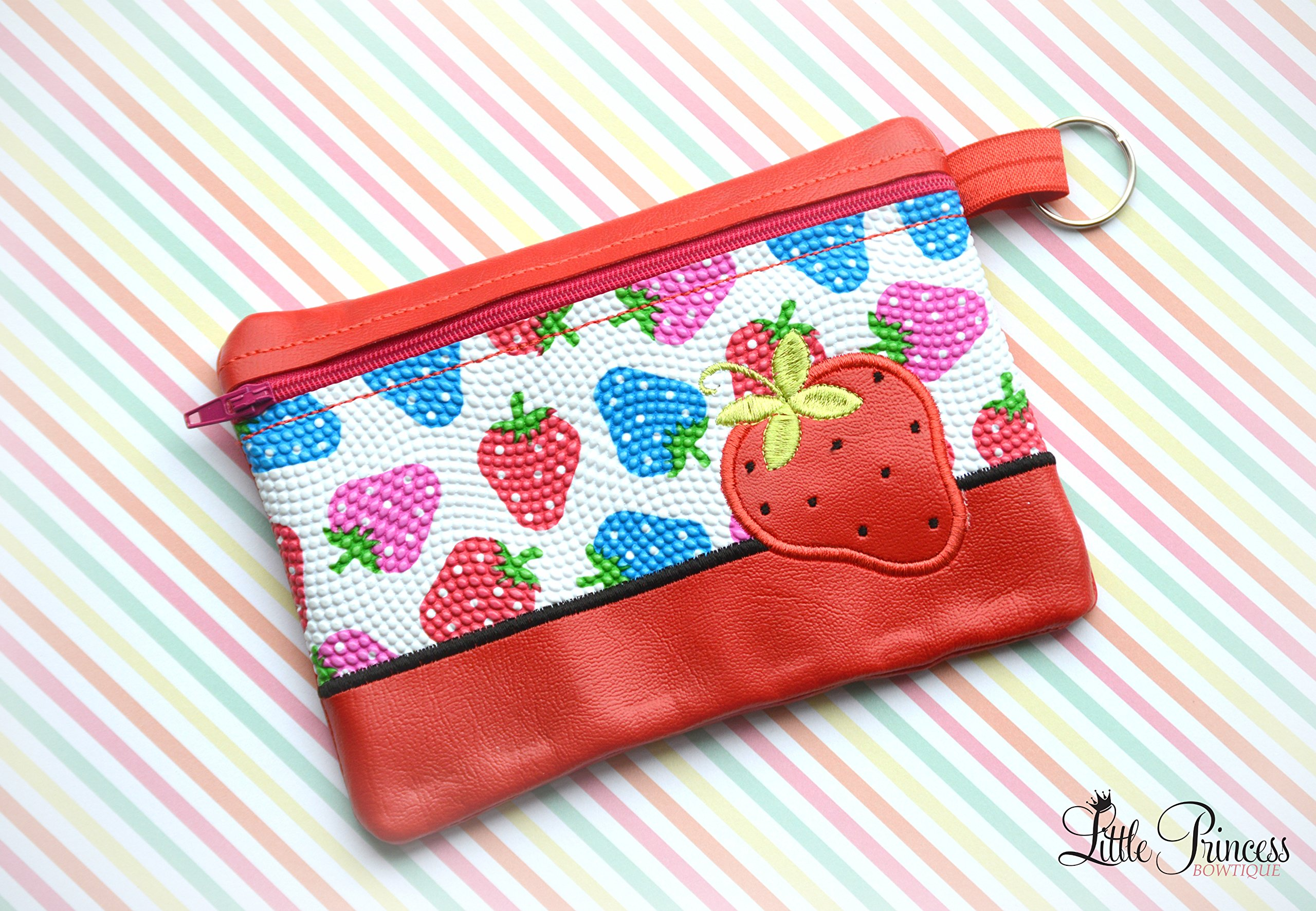 Strawberry Bag, Cosmetic Bag, Toiletry Bag