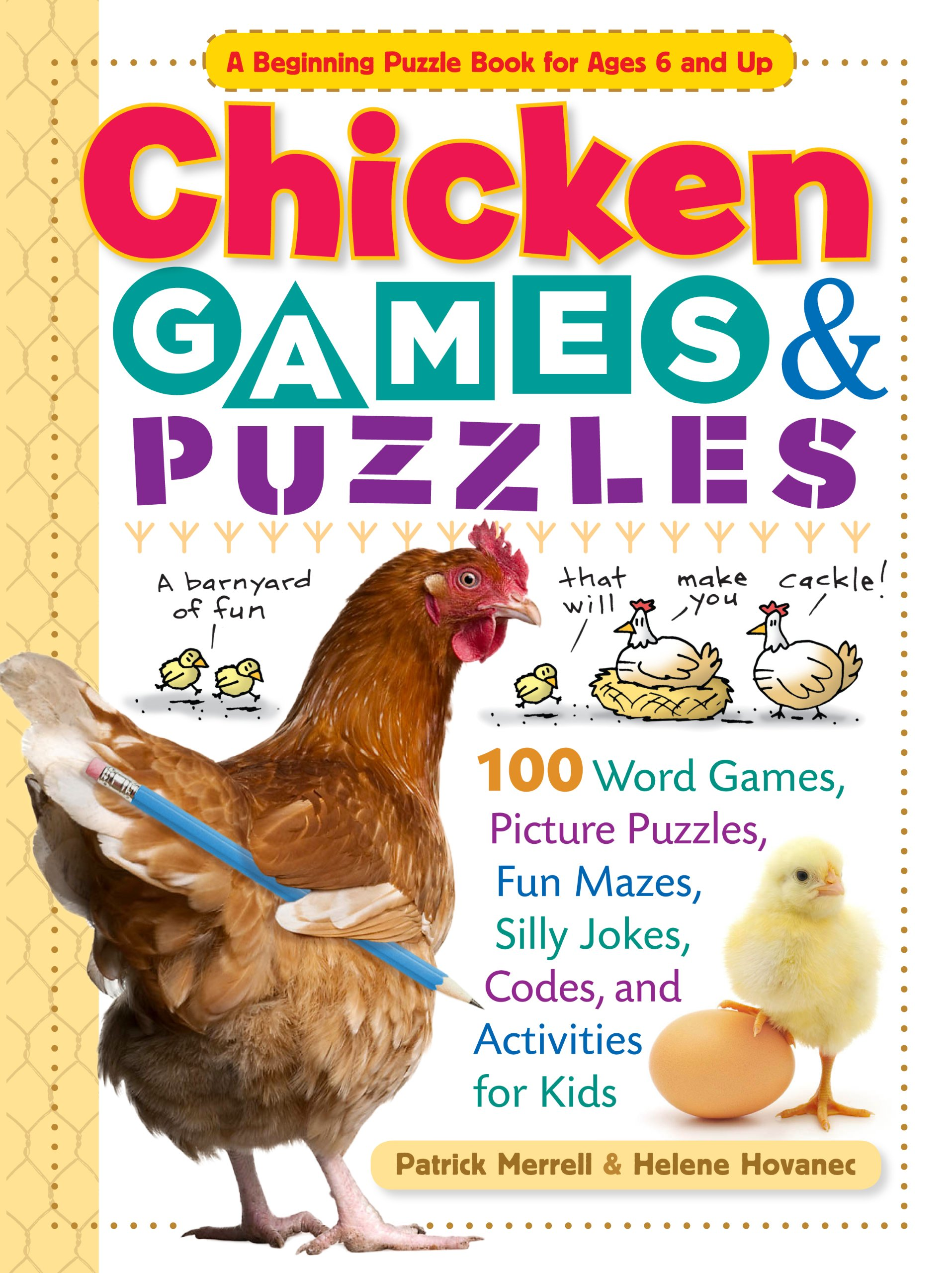 Chicken Games Puzzles Picture Activities product image