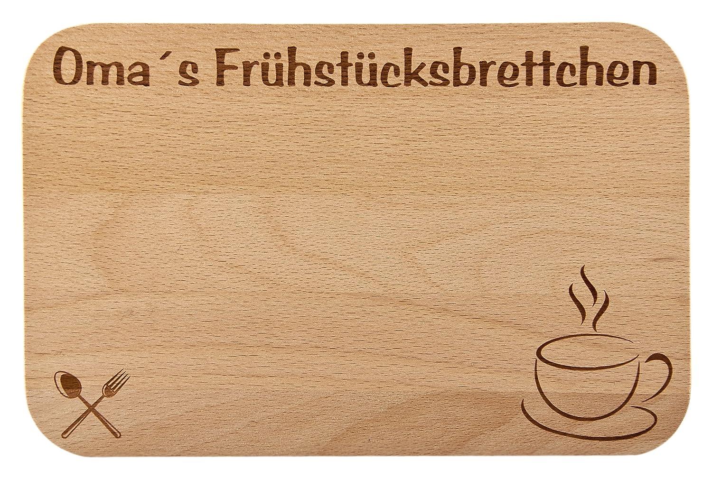 Frühstücksbrettchen / Frühstücksbrett mit Gravur für die Opa als ...