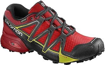 Salomon Homme XA Lite GTX Chaussures de Course à Pied et Trail Running, Synthétique/Textile, Rouge, Pointure: 45 1/3