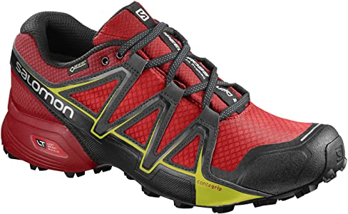 7e880db56292 Salomon Men s s Speedcross Vario 2 Gtx Trail Running Shoes Fiery  Red Barbados Cherry Magnet