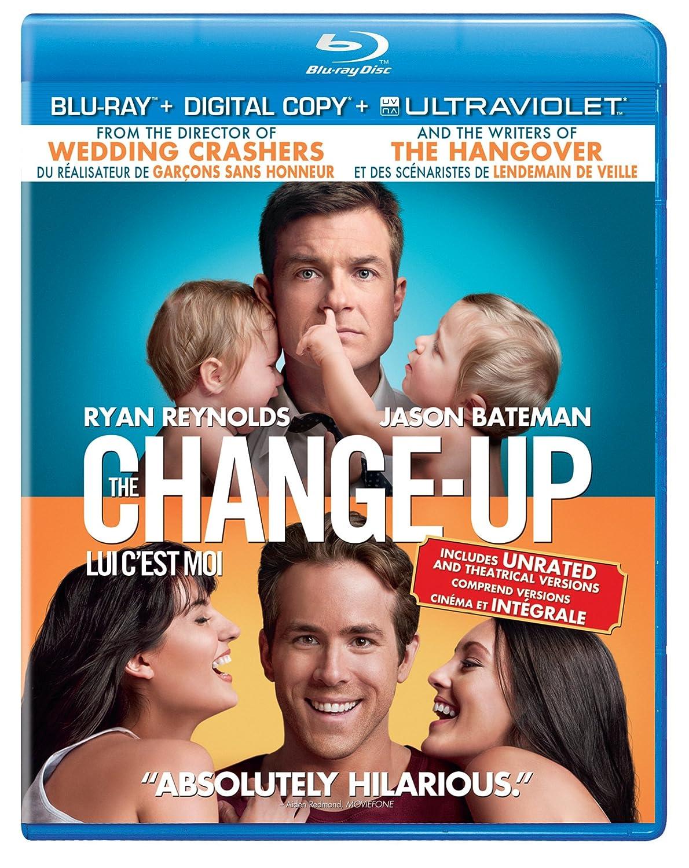 The Change Up Blu Ray Digital Copy Ultraviolet Bilingual Amazon Ca Ryan Reynolds Jason Bateman Leslie Mann Olivia Wilde Craig Bierko Alan Arkin