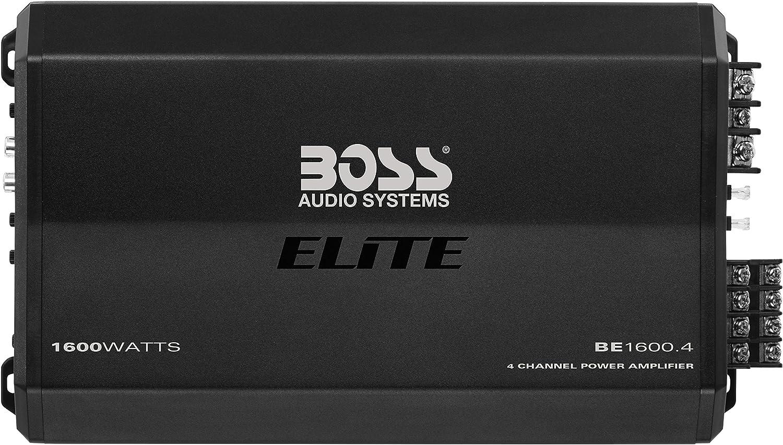 BOSS Audio Systems Elite 4-Channel Car Amplifier
