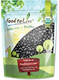 Food To Live Organic Black Turtle Beans (Dried, Non-GMO, Bulk) (5 Pounds)
