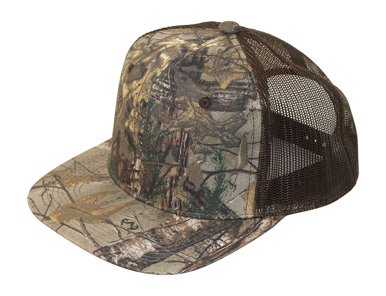 5fe4a5b989c Amazon.com   Realtree Camo Trucker Hat Meshback Snapback Cap   Sports    Outdoors