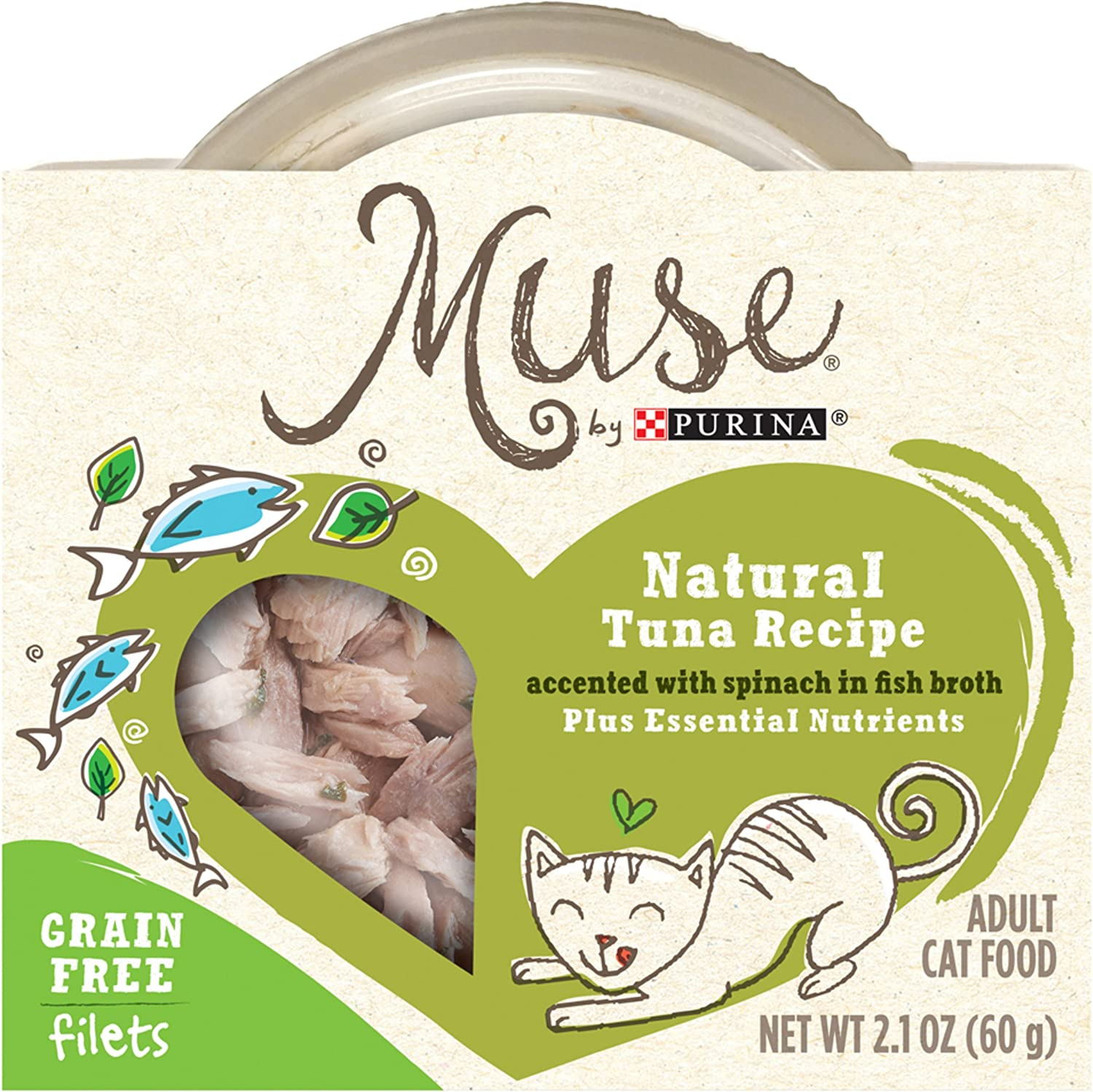 Muse Grain-Free Natural Filets Wet Cat Food