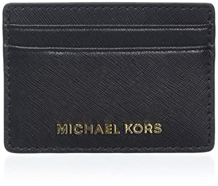 f26c452c283e Image Unavailable. Image not available for. Color  MICHAEL Michael Kors  Women s Jet Set Card Holder ...