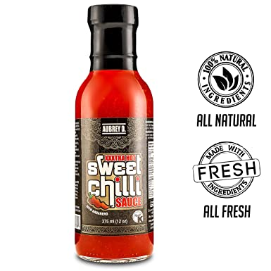 Amazon.com : Aubrey D. Xxxtra Hot Sweet Chili Bbq Sauce ...
