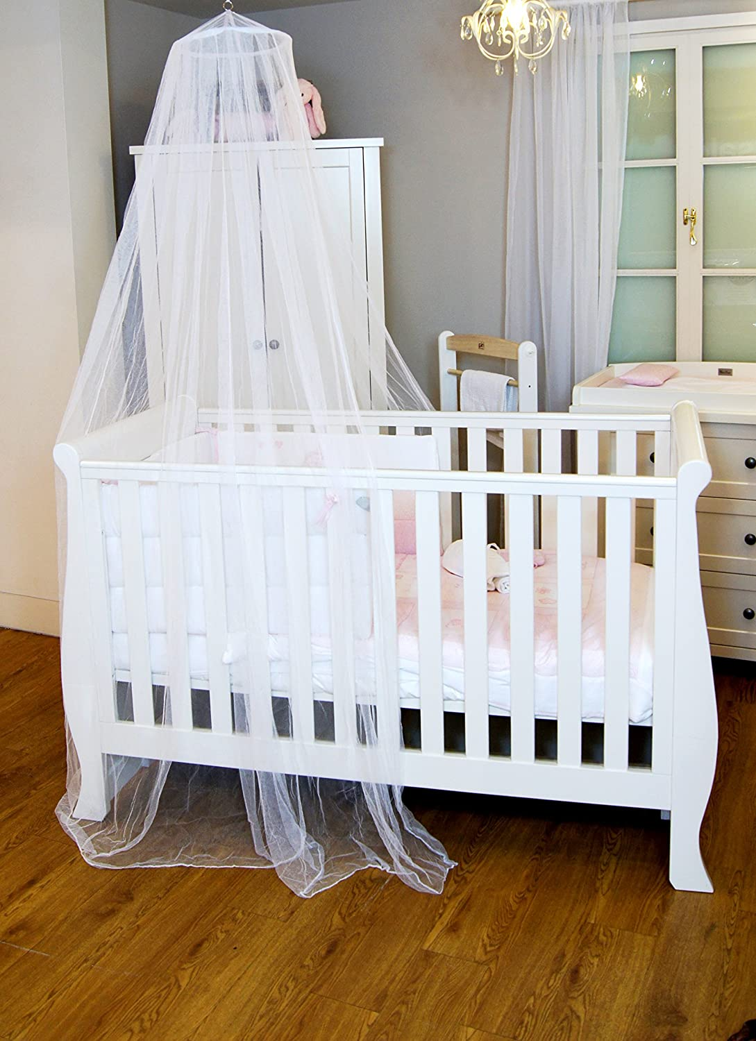 Baby bed holder - Bed Canopy Insect Protection For Babies And Cots Easy To Install Baby Bed Canopy