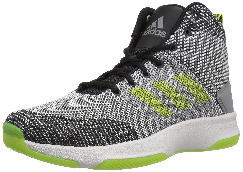 wholesale dealer 7a007 a2ed7 Adidas Neo Mens CF Executor Mid Basketball Shoes Grey FiveSemi Solar  YellowGrey