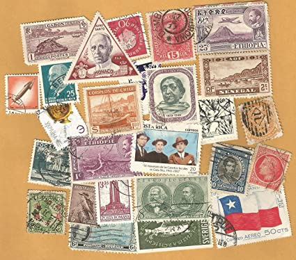 25 Very Old Issues Foreign Stamps Hard To Find Good Value