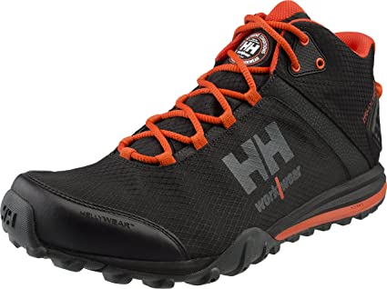 bd5d893f59f HellyHansen 78253 Running Shoes Rabbora Trail Mid Trainers Light Samsung  Performance, black, 78253 - EN safety certified: Amazon.co.uk: Business, ...
