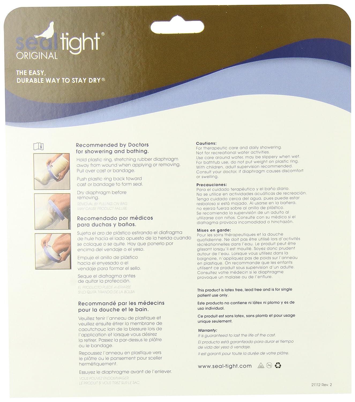 Amazon.com: Brownmed SEAL-TIGHT Original Cast and Bandage Protector, Pediatric Medium Leg: Health & Personal Care