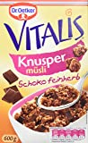 Dr. Oetker Vitalis Knusper Schoko feinherb, 5er Pack (5 x 600 g)
