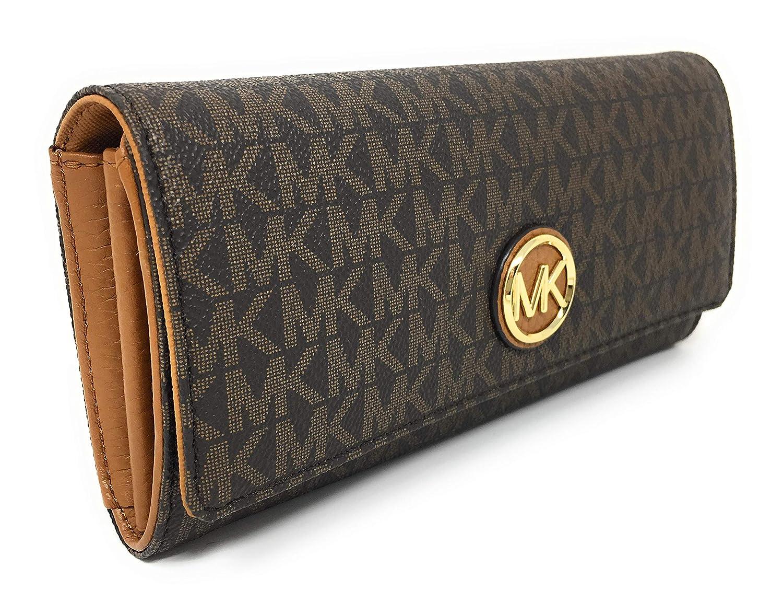 Michael Kors Womens Fulton - Flap Continental Wallet