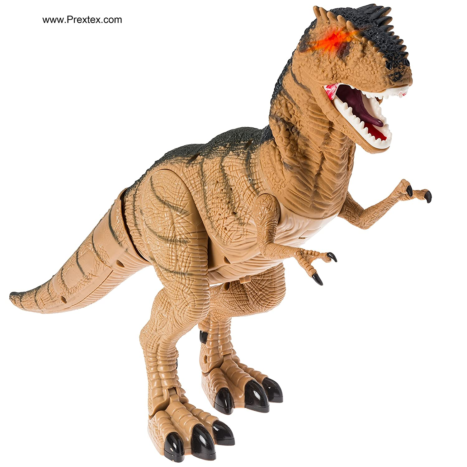 [Prextex]Prextex Battery Powered Walking Dinosaur Toy That Roars And Shakes While Eyes Are Blinking PR-BOD8993 [並行輸入品] B01DOCNBFG