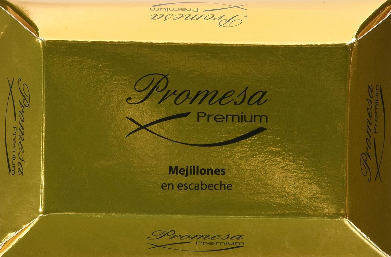 Promesa Mejillones Grandes En Escabeche En Lata - 125 gr: Amazon ...