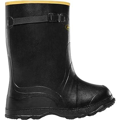 "Utah Brogue Overshoe 14"" Black (00300060)  Waterproof  Insulated Modern Comfortable Hunting Combat Boot Best For Mud Snow"