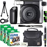 Fujifilm Instax Wide 300 Instant Film Camera + instax Wide Instant Film, 60 Sheets + Extra Accessories