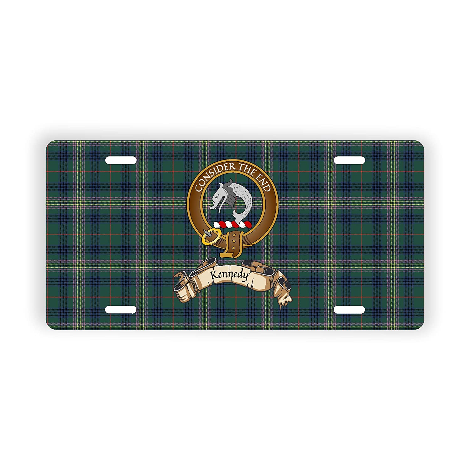 Scotland Clan Kennedy Novelty Auto Plate