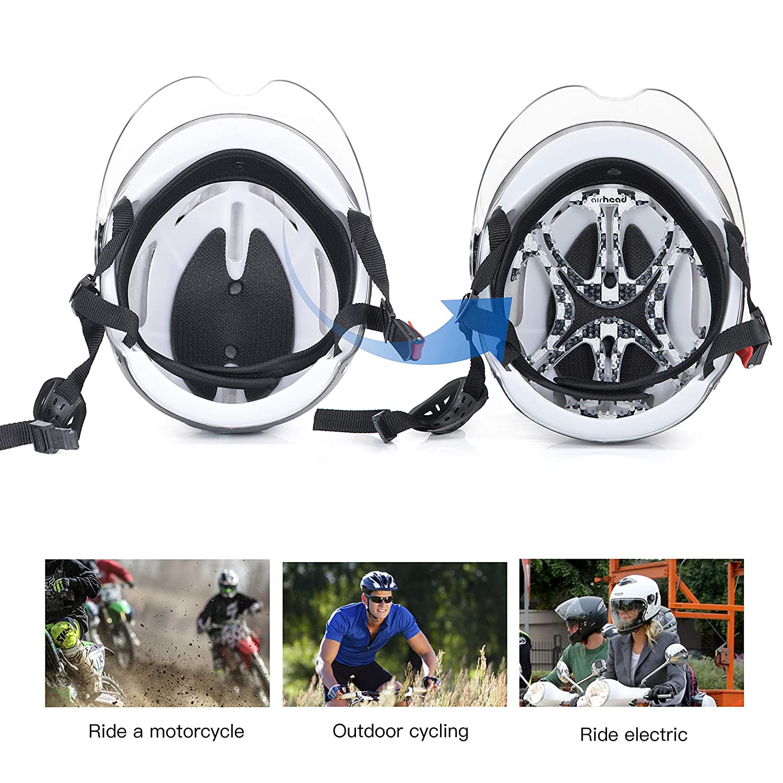 Amazon.com: Almohadilla para casco Airhead: Automotive